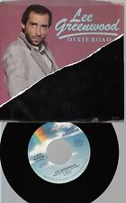 Country Picture Sleeve 45 Lee Greenwood - Dixie Road / (I Found) Love In Time On
