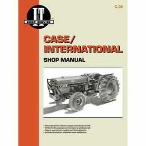 I&T Shop Manual Compatible with International 585 585 686 686 Case IH 685 685