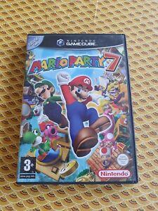 Mario party 7 Nintendo gamecube Pal en français avec carte VIP non grattée