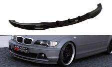 BODY KIT LAMA SOTTO PARAURTI ANTERIORE SPLITTER BMW 3 E46 COUPE FACELIFT MODEL