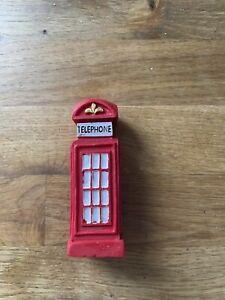 Traditional Rex Telephone Box Part Miniature Fairy Garden