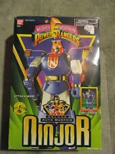 Vintage Mighty Morphin Power Rangers Deluxe Auto Morphin Ninjor w/ Box MMPR 1995