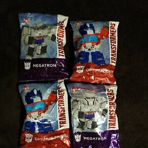 Transformers Wendy's Kids Meal 35th Anniversary Lot of 4