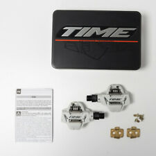 Time Atac XC6 MTB Pedals White including cleats