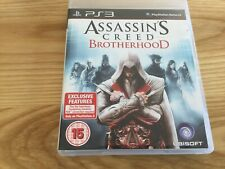 Assassin's Creed: Brotherhood (Sony PlayStation 3, 2010) Excellent Condition