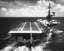 USS FRANKLIN D. ROOSEVELT MEDITERRANEAN SEA 11x14 SILVER HALIDE PHOTO PRINT