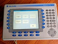 Allen-Bradley PanelView Plus 700 Keypad Touch Display Module 2711P-RDB7C SER D