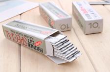 Eyebrow blade makeup tool stainless steel shaving eyebrow shaving knife razor