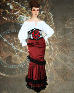 Women's Victorian Skirt, High quality fabric, hand crafted one by one, COOL!!