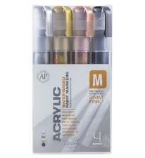 Montana Paint Marker Metallic 4 Set Fine