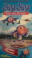 Jay Jay the Jet Plane Natures Treasures(Vhs 2002)Tested-Rare Vintage-Ships N24Hr