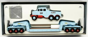Corgi 1/50 Scale 17601 - Scammell Constructor 24 Wheel Low Loader Hills