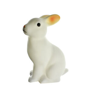 Bunny LED Light Up Plastic Lamp, Multicolor, 6-Inch