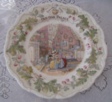 "Royal Doulton, Brambly Hedge - ""Old Oak Palace"" 8 inch plate"