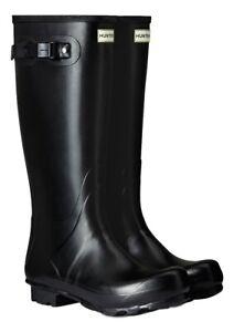 WAREHOUSE SALE New Mens Field Hunter Wellington Boots Black Size UK 8