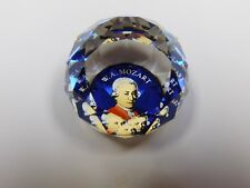 Swarovski Crystal Colors W.A. Mozart Paperweight New With-Boxes