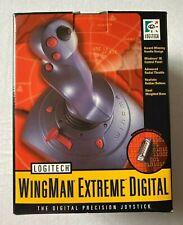 Vintage Logitech Wingman Extreme Digital Joystick Controller 15 pin connector
