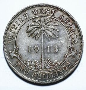 1913 British West Africa Two 2 Shillings - George V - Lot 1487