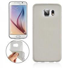 Tapa Trasera Gris Transparente Funda Estuche 0,3mm para Samsung Galaxy S6