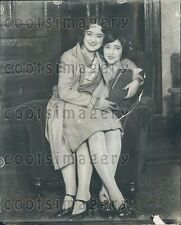 1928 Kansas City MO The Woodsides Mother & Daughter Whipping Case Press Photo