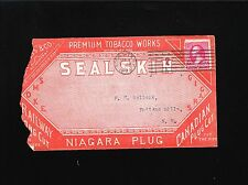 Rochester NY Premium Tobacco Works Sealskin Cigar Niagara Plug Tobacco 1894 5x