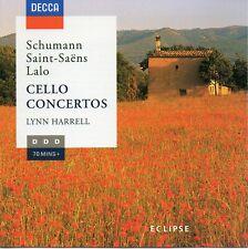 CD: LYNN HARRELL - Cello Concertos (Decca 448712-2) 1996 D