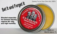 Stiff, Extreme - 1oz Moustache & Beard Wax - All Hair, Vitamins, NO Petroleum