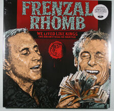 FRENZAL RHOMB We Lived Like Kings... NEW, SEALED 2XLP BEST OF/Fat Wreck Chords
