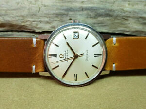 1967 OMEGA GENEVE SILVER DIAL DATE AUTOMATIC CAL:565 MAN'S WATCH
