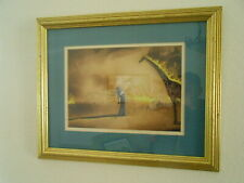 Canvas Painted Painting Salvador Dali Burning giraffe Reproduction with frame