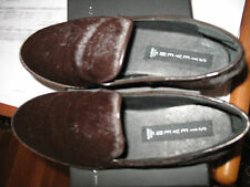 NEW in BOX STEVEN by Steve Madden  Clutch haircalf Flats BROWN PONY s6