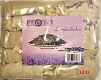 Set of 10 Natural French Lavender Buds Potpourri Sachets Lavender Organza Bags