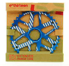 e*thirteen Extended Range Cog 40t, Shimano 34t Compatible, Blue