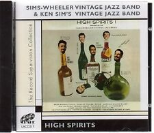 The Sims-Wheeler Vintage Jazz Band - High Spirits (brand new CD 2005)
