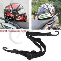Motorcycle Retractable Helmet Luggage Elastic Rope Strap Holder Hook Buckle WA