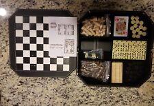 7 Board Games Backgammon Chess Cribbage Dominos Checkers Casino Dice Poker Dice