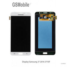 Display Pantalla LCD tactil Samsung Galaxy J7 2016 J710 J710F White Original