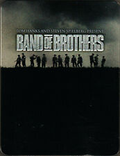 Band Of Brothers The Hbo Tv Miniseries 6 Dvd Set on Wwii us Military War History