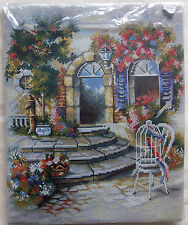 "* Rico Gobelin Stickereien sticken Kit ~ Sommerterrasse - 25""X20"" Don Raymon"