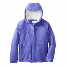 Columbia Girls' Triple Run II Insulated Winter Ski Jacket Coat - Purple (Medium)