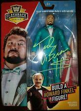 TED DIBIASE AUTOGRAPHED Signed WWE WWF FLASHBACK FIGURE