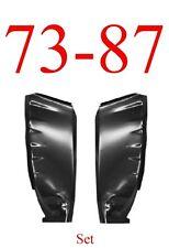 73 87 Chevy Inner Cab Corner Set, GMC Truck 0850-217, 0850-218