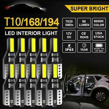 10x AUXITO T10 501 W5W CANBUS LED Interior Wedge Parker License Light Bulb 6000K