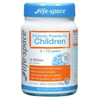 Life-Space Probiotic Powder for Children 60g 3 - 12 Years Kids Gut Health
