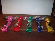 """One 4' Nylon Dog Leash,in a choice of colors,3/4"""" Wide"""