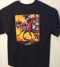 Kentucky Derby 140th Churchill Downs May 3, 2014 T-Shirt Adult Black Sz 2XL EC