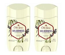 Old Spice Wilderness Scent Anti-Perspirant/Deodorant 2 Pack