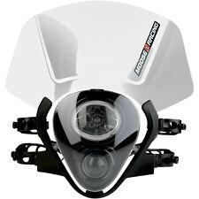 Universal MX Dirtbike Moto Moose Racing Species Headlight White