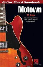Motown Sheet Music Guitar Chord SongBook NEW 000699734