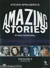 Amazing Stories. Storie incredibili Stagione 2. Vol.2 (1986) Cofanetto 3 DVD NEW